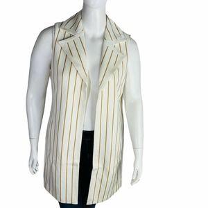Chicos 2 12/14 Elongated striped Jacket